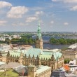 Stock Photo: Hamburg in summer