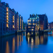Stock Photo: Night Hamburg