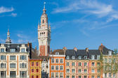 View on chamber of commerce in Lille — Stock Photo