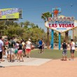 Welcome to Las Vegas sign — Stockfoto