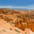 Sunset Point and Navajo Trail — Stock Photo