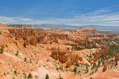 Bryce canyon från rim trail — Stockfoto
