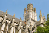 Abbey of Saint-Ouen in Rouen city — Stock Photo