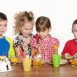 Children at a birthday party — Stock Photo #31012749