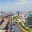 Stock Photo: Hamburg and port