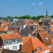 Rooftops in Bruges — Stock Photo