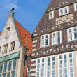 Historical building in Bremen — Stock Photo
