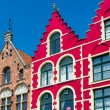 Historical buildings in Bruges — Stock Photo