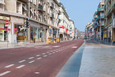 Rue du General Leclerc in Rouen — Stock Photo