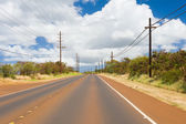 Road on the Kauai island — Stock Photo