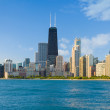 Cityscape of Chicago — Stock Photo