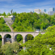 Luxembourg in summer — Stock Photo