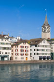 Morning in Zurich — Stock Photo