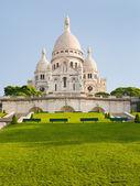 Basilica del sacro cuore di parigi — Foto Stock