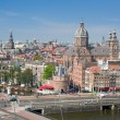 Historic center of Amsterdam — Stock Photo #34476451