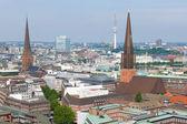 Hambourg en une journée d'été — Photo