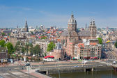 Historic center of Amsterdam — Stock Photo