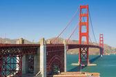 Golden Gate Bridge in a sunny day — Foto de Stock