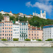 Lyon in a sunny summer day — Stock Photo