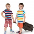 Stock Photo: Little travelers