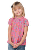 Modest little girl — Stockfoto