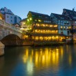 The Petite-France area in Strasbourg. — Stock Photo