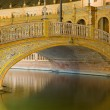 Bridge at The Plaza de Espana — Stock Photo