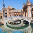 Spain Square in Seville — Stock Photo