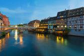 Petite-France in Strasbourg — Stock Photo