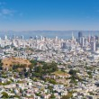 San Francisco in a sunny summer day — Stock Photo