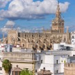Stock Photo: The Cathedral of Saint Mary of the See in Seville
