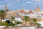 Cityscape of Seville — Stockfoto