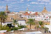 Vista da cidade de sevilha — Foto Stock