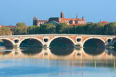Pont Neuf in Toulouse — Stock Photo