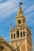 Tower of The Cathedral of Saint Mary of the See — 图库照片