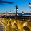 Summer night in Bordeaux — Stock Photo #37751087