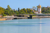 Seville in a sunny summer day — Stock Photo