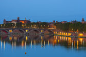 Toulouse at night — Stock Photo