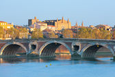 The Pont Neuf in Toulouse — Stock Photo