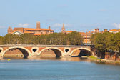 Cityscape of Toulouse — Stock Photo