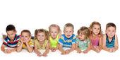 Eight children — Stock Photo