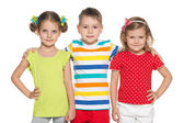 Cute preschoolers — Stock Photo