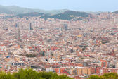 Barcelona at the early evening — Foto Stock