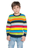 Fashion young boy — Stock Photo