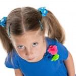 Upset little girl — Stock Photo #43728579