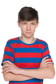 Teenager boy — Stockfoto
