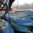 viejos barcos — Foto de Stock