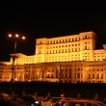 Romanian Parliament — Stock Photo