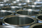 Cans, industrial — Stock Photo