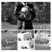Äktenskap - brudgummen — Stockfoto